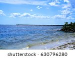 Small photo of A look at one of the many fishing piers on Charlotte Harbor they are all very well used.
