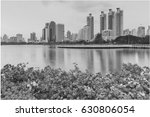black and white  city office... | Shutterstock . vector #630806054