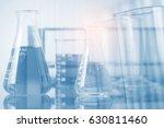 double exposure of equipment... | Shutterstock . vector #630811460
