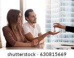 a hand of female real estate... | Shutterstock . vector #630815669