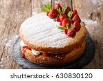 Home Victoria Sponge Cake ...