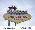 famous las vegas sign on bright