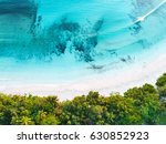 aerial drone photo   beautiful... | Shutterstock . vector #630852923