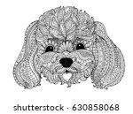 Toy Poodle  Zentangle Design ...