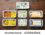 different type of ready tasty... | Shutterstock . vector #630864866