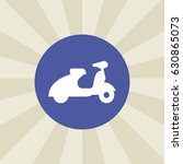 moped icon. sign design.... | Shutterstock . vector #630865073