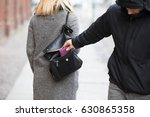 close up of a person stealing... | Shutterstock . vector #630865358