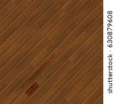 wood texture. vector wooden... | Shutterstock .eps vector #630879608
