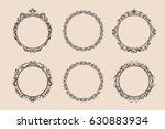 decorative round vintage frames ...