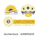 sunflower natural cooking oil... | Shutterstock .eps vector #630890654