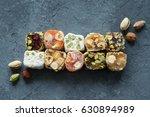 Oriental Sweets. Turkish Delight