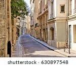 beautiful quaint street in the... | Shutterstock . vector #630897548