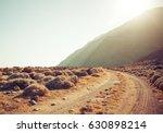 dirt road rally background | Shutterstock . vector #630898214