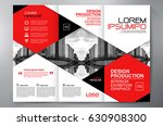 business brochure. flyer design.... | Shutterstock .eps vector #630908300