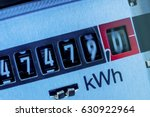 electric meter | Shutterstock . vector #630922964