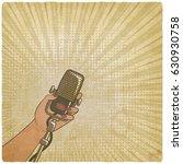 music vintage background.... | Shutterstock .eps vector #630930758