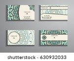 visiting card and business card ... | Shutterstock .eps vector #630932033