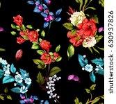 seamless background pattern.... | Shutterstock .eps vector #630937826