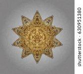 vector illustration. islam ... | Shutterstock .eps vector #630951380