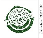 green handmade distressed... | Shutterstock .eps vector #630964088