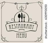 vector template menu for... | Shutterstock .eps vector #630993050