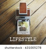 Small photo of Lifestyle Life Habitual Instant Film