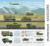 military army big set of base... | Shutterstock .eps vector #631021043