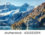 alaska nature travel. glacier... | Shutterstock . vector #631031054