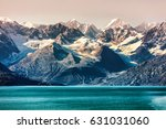 glacier bay national park ... | Shutterstock . vector #631031060