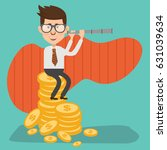 businessman concept design... | Shutterstock .eps vector #631039634