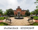 city hall court house in... | Shutterstock . vector #631042649