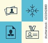 business management icons set.... | Shutterstock .eps vector #631042880