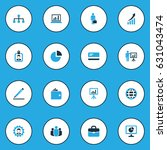 job colorful icons set.... | Shutterstock .eps vector #631043474
