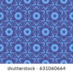 geometric seamless pattern.... | Shutterstock .eps vector #631060664
