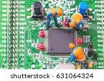 miniature computer engineers... | Shutterstock . vector #631064324