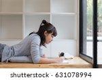 asian girl female teenager... | Shutterstock . vector #631078994