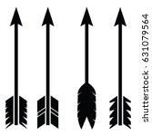 arrow icon set | Shutterstock .eps vector #631079564