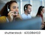 customer service executive...   Shutterstock . vector #631086410