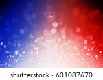 Abstract Patriotic Red White Blue - Fine Art prints