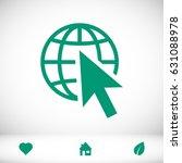 web icon  stock vector...   Shutterstock .eps vector #631088978