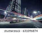 traffic through the modern city | Shutterstock . vector #631096874