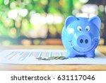 piggy bank. | Shutterstock . vector #631117046
