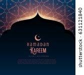 ramadan kareem festival... | Shutterstock .eps vector #631121840