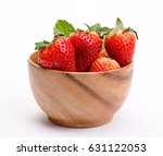 Red Berry Strawberries In A...