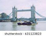 london  uk  2017  street view.... | Shutterstock . vector #631123823