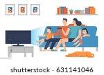 flat design characters of... | Shutterstock .eps vector #631141046