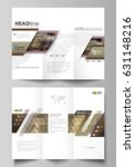 tri fold brochure business... | Shutterstock .eps vector #631148216
