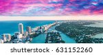 aerial view of miami beach... | Shutterstock . vector #631152260