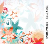 Abstract Greeting  Card With...