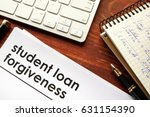 document with title student... | Shutterstock . vector #631154390